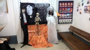 Audley End Station Halloween